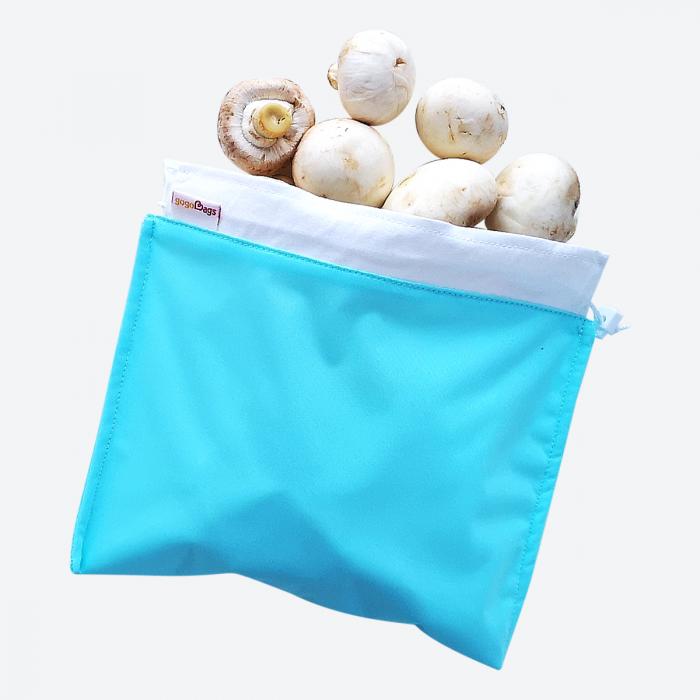 Blue Fresh Mushroom Bag