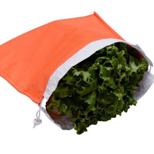 fresh sala bag -orange- gogobags-vancouver-handmade-reusable