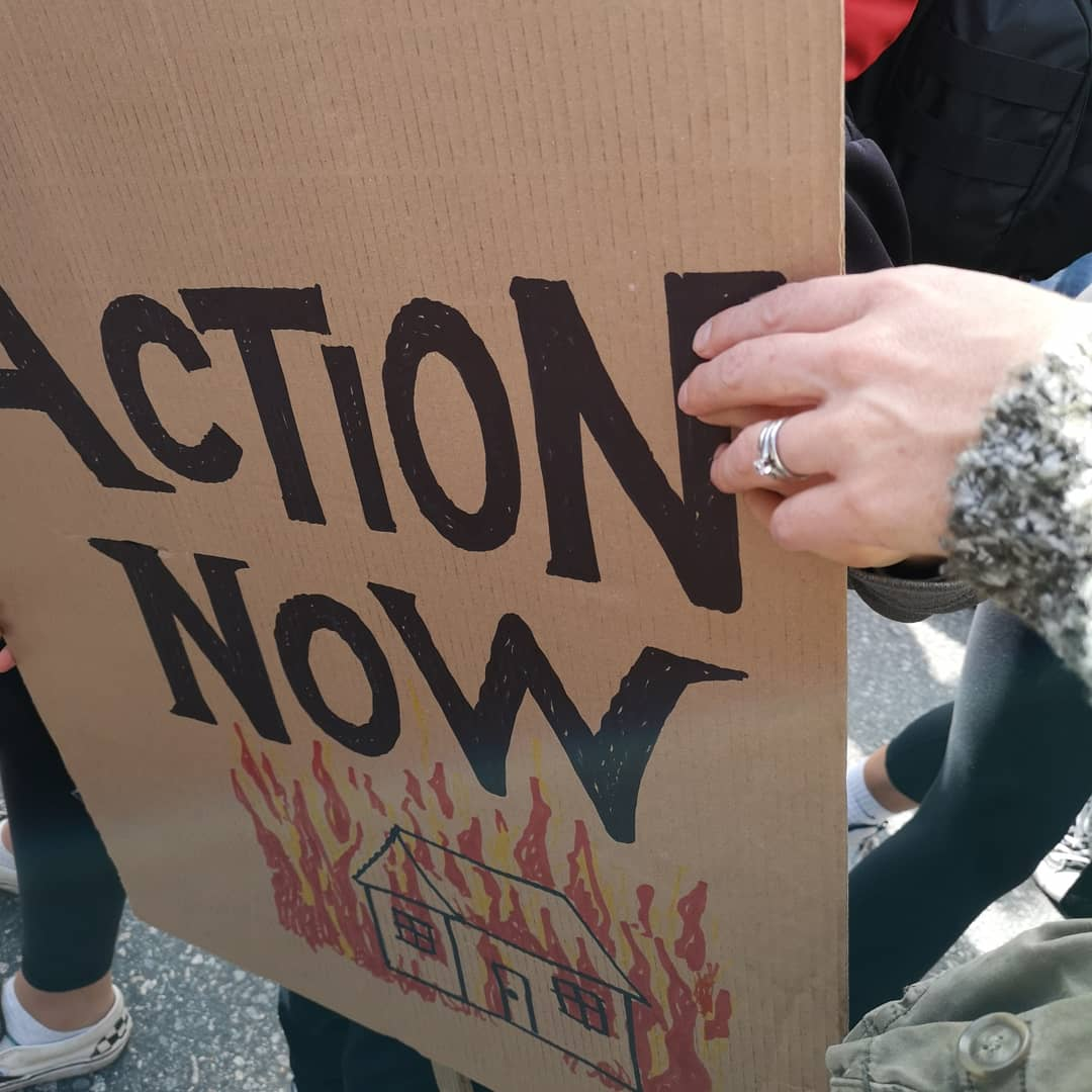 climate strike - action now