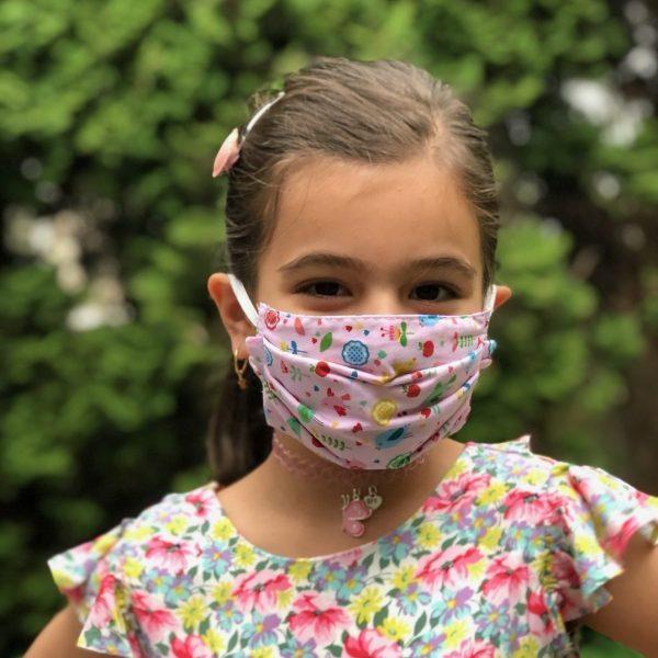 Kids reusable mask