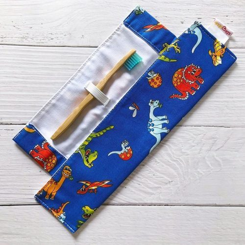 dinosaur-toothbrush-bag-gogoBags-Vancouver