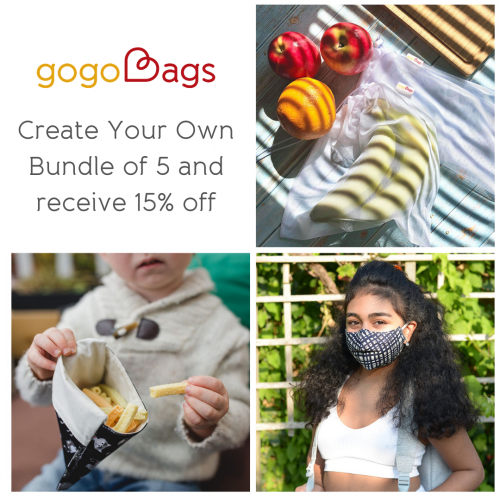 reusable face masks and reusable bags