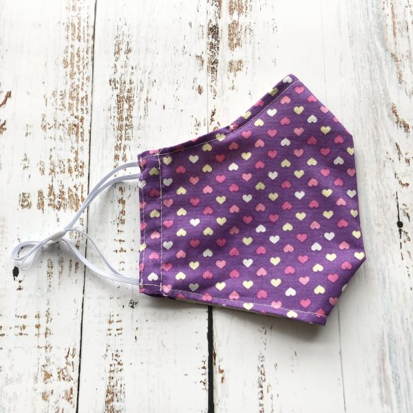 Heart-fitted-reusable-face-mask-gogoBags-Vancouver