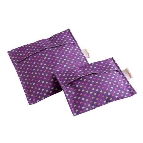 Heart-set-snack-bag-handmade-cotton-reusable-bag-gogobags-vancouver-canada