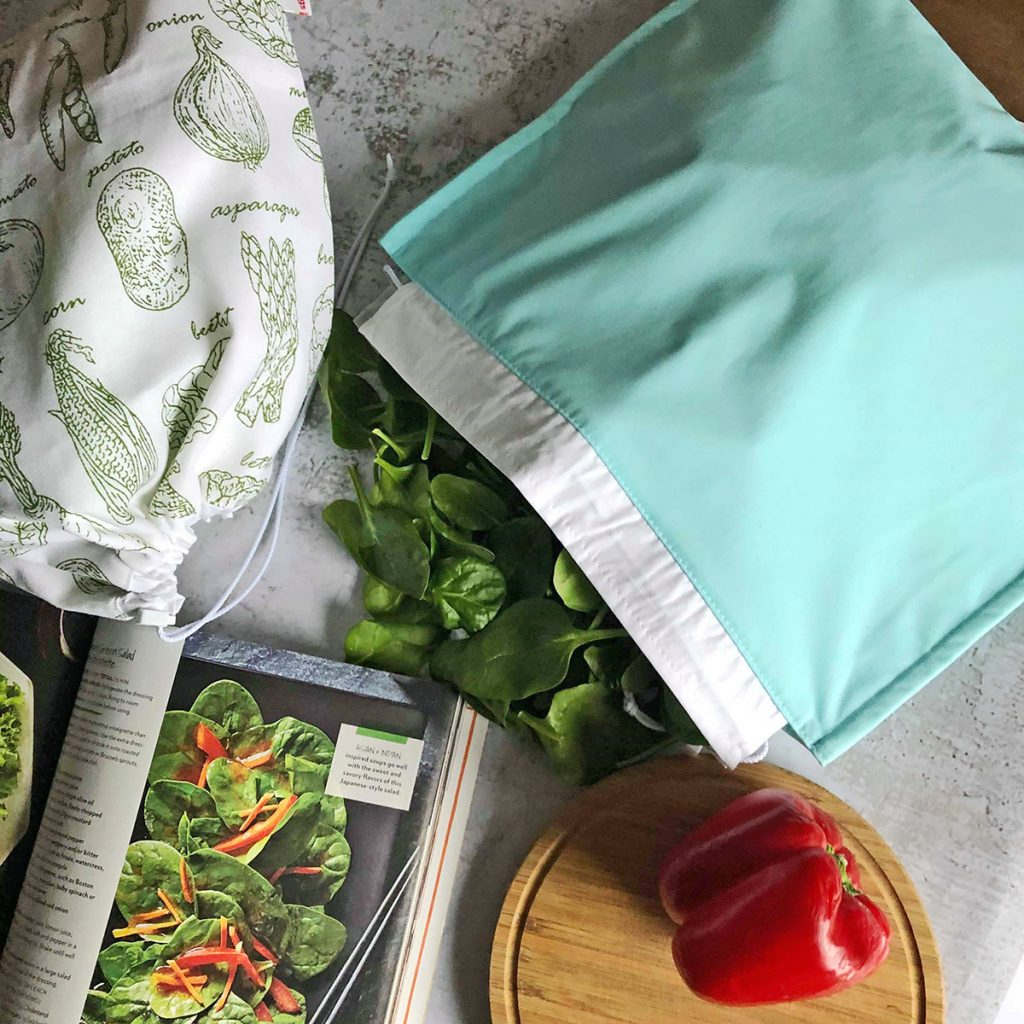 gogoBags-Reusable-Fresh Salad Bag - Vancouver-Canada