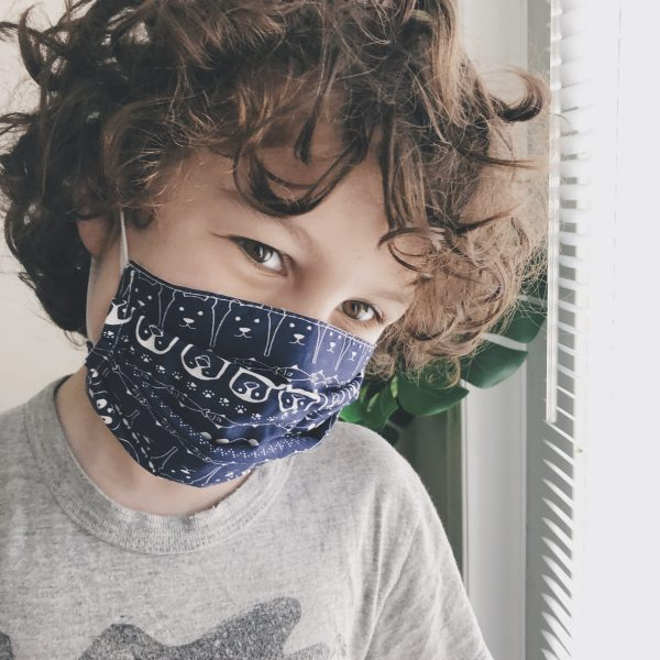 gogoBags-reusable mask-child size-Vancouver-Canada