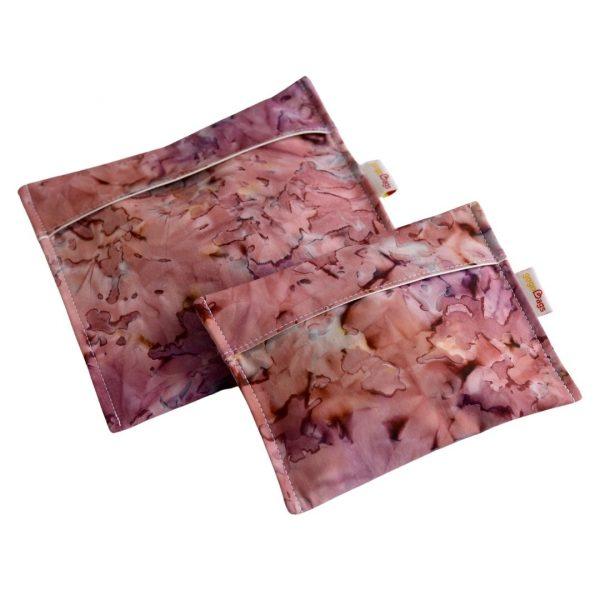 Blossoms-Set-snack-bag-handmade-cotton-reusable-bag-gogobags-vancouver-canada