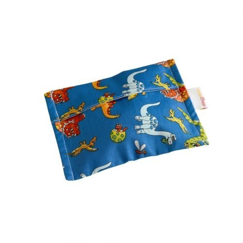 Dinosaur-reusable-snack-small-bag-handmade-cotton-reusable-bag-gogobags-vancouver-canada